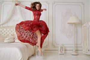 abito-cerimonia-rosso